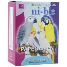 Esve Ni-ble Mineralenblok papegaai - roze