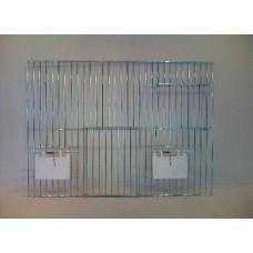 Voorfront 040 x 30 klep - 1 deur + draaideur