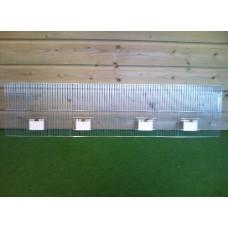 Voorfront 120 x 30 klep - 2 deuren + 2 draaideuren