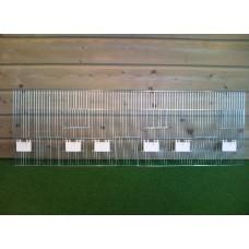 Voorfront 120 x 40 klep - 3 deuren + 2 draaideuren