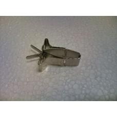 Sepiaklem clip metaal