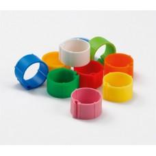 Plastic klikringen 16 mm. - 25 stuks