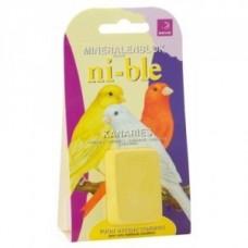 Esve Ni-ble Mineralenblok voor kanarie - geel