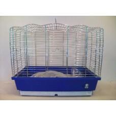 Vogelkooi chroom klein - uitverkocht