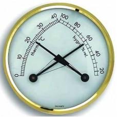 Hygrometer en thermometer